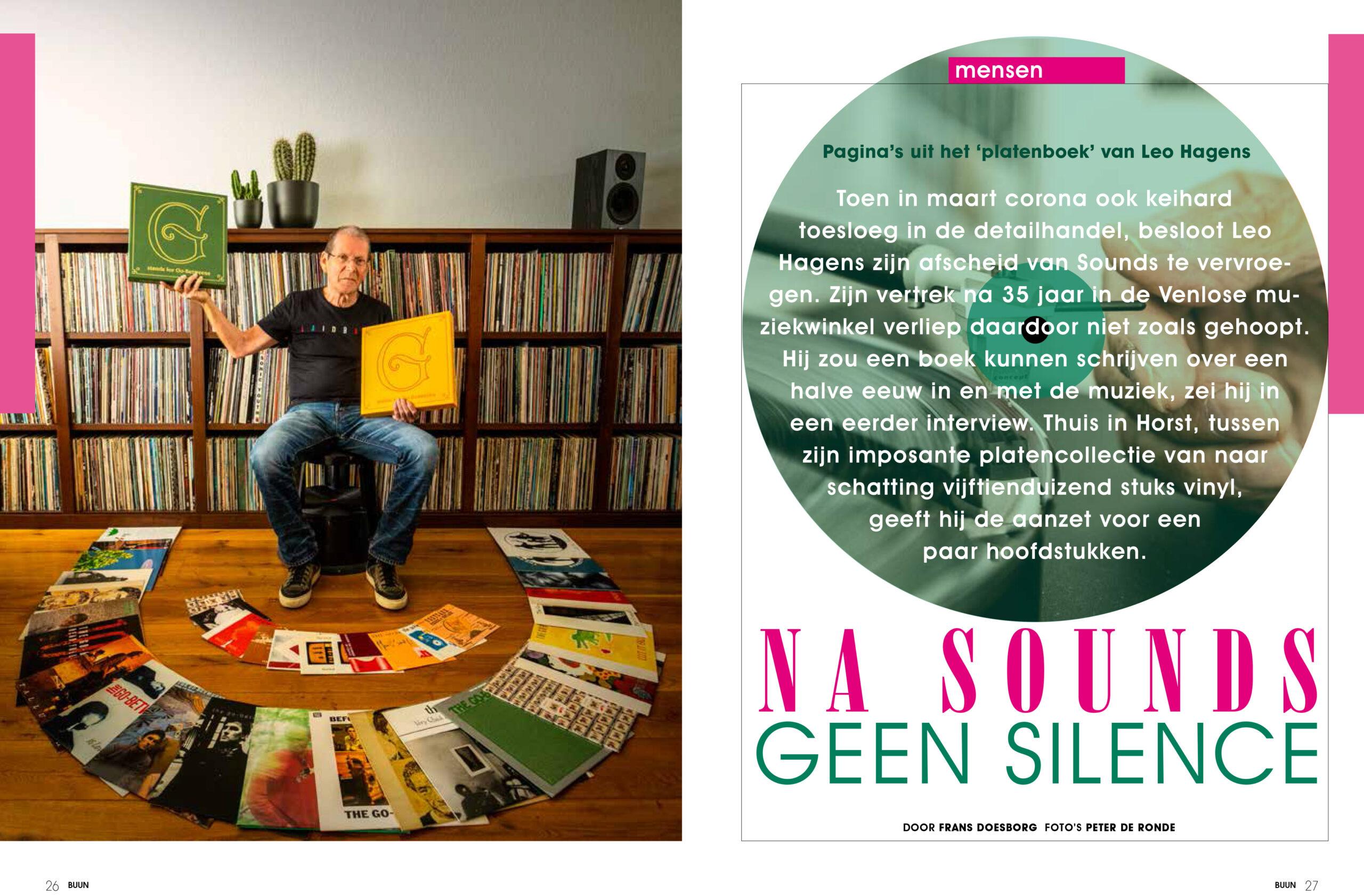 PREVIEW BUUN2021: het platenboek van Sounds-Leo